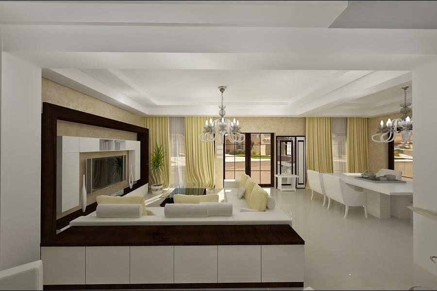 design interior living modern casa