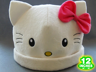 Hello Kitty hat with ears
