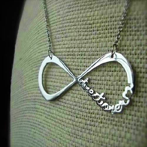 New Hot Fashion One Direction Directioner Infinity Pendant Chain Necklace