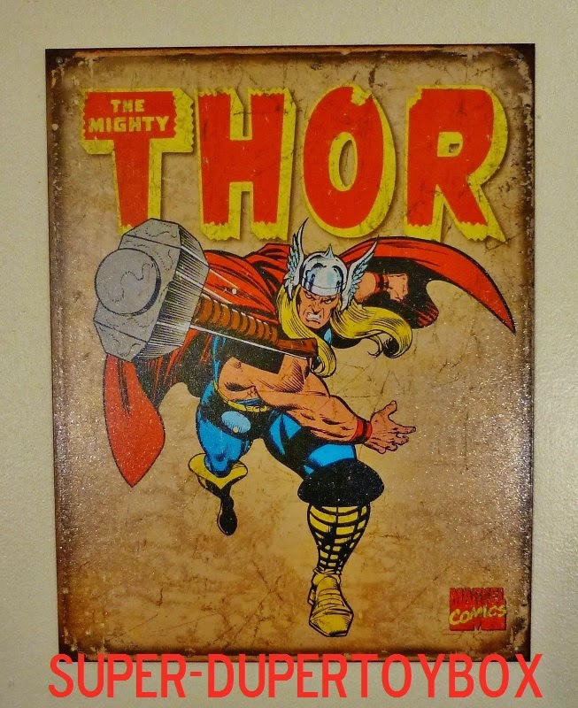 Super-DuperToyBox: Framed Marvel Solicitation Posters!