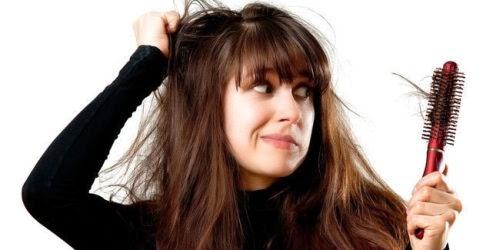 cara merawat rambut rontok kering secara alami