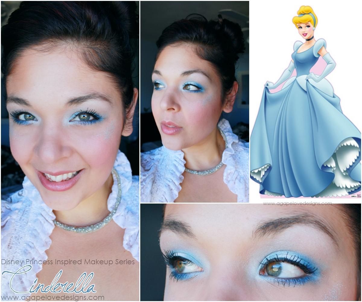 Agape Love Designs: Cinderella Inspired Makeup Look