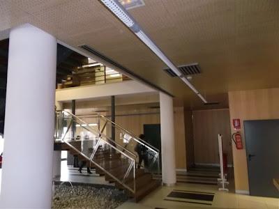 Paneles acústico techos Ayuantmiento de Santa pola