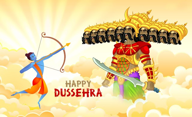 Celebrations brighter with your warm wishes.. May Lord Rama's blessings be with you today and always! Happy Dussehra