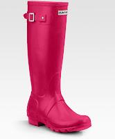 Hunter Rain Boots Pink4