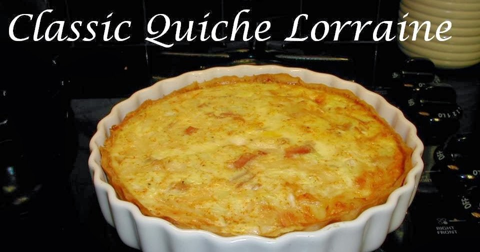 Cooking tip of the day recipe quiche lorraine for Quiche not setting