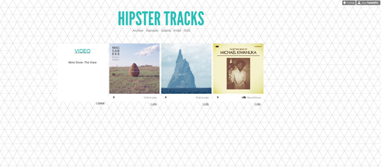 Hipstertracks