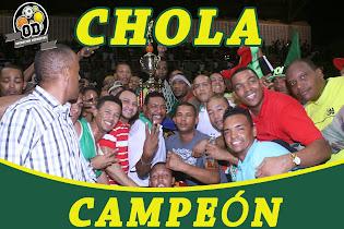 CHOLA CAMPEÓN 2015