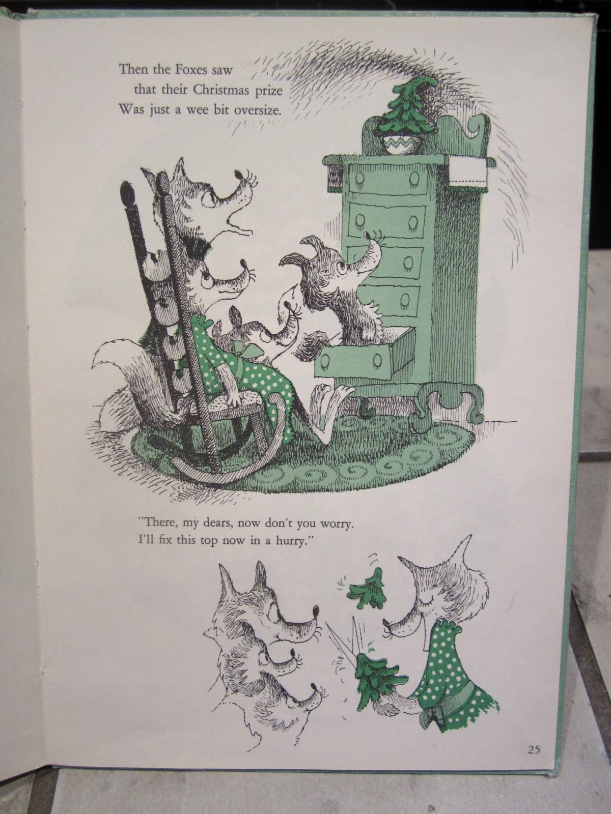 Heroine Jones Review Mr Willowby S Christmas Tree By Mr Willowby S Tree Coloring Pages
