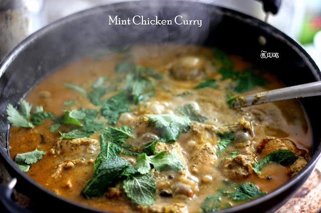 Mint Chicken Curry