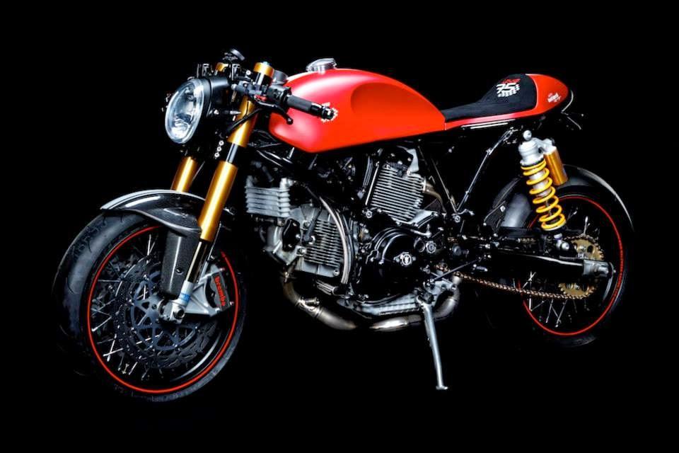 Racing Caf U00e8  Ducati Sport 1000  U0026quot Louis 75 U0026quot  By Walzwerk