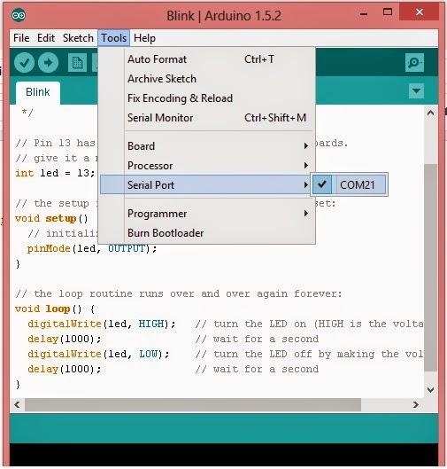 Tutorial arduino cara memprogram pemutih