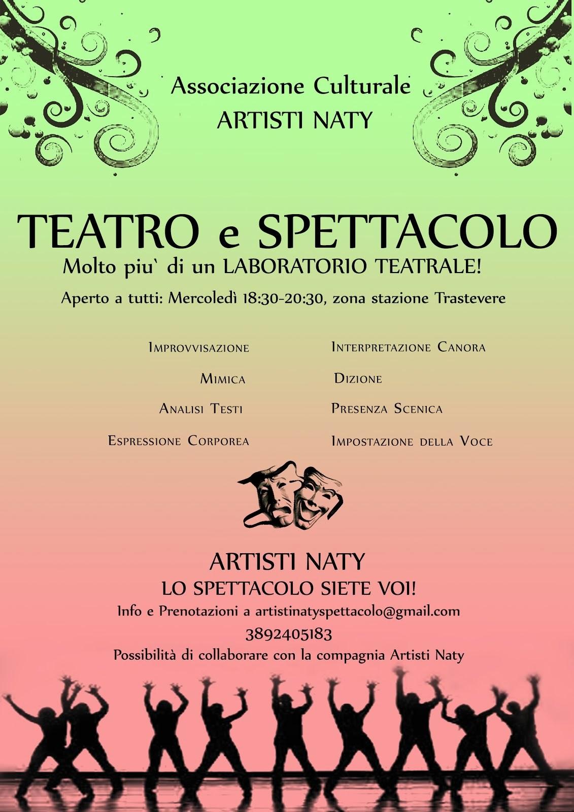 Corso di Teatro e Spettacolo