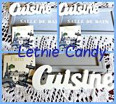 Retro blue - Letnie Candy