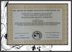 Rabbitry Registration photo