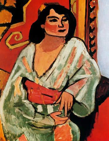 mujer con sombrero de Matisse