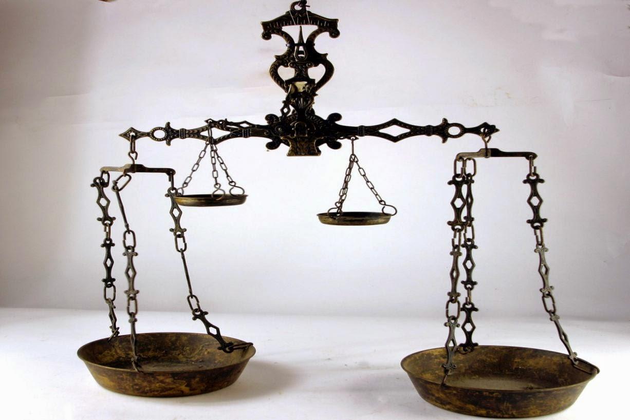 Formalidades y balanza romana
