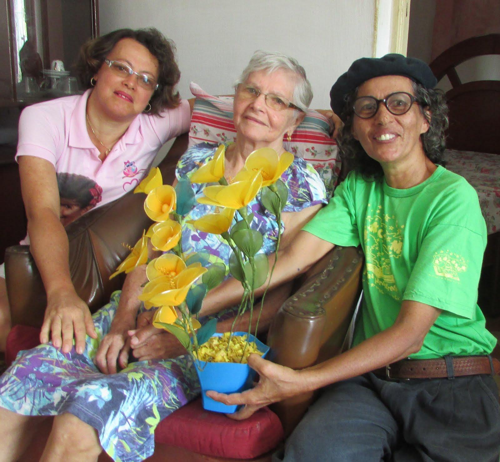 Ouvintes-leitoras do Alacazum palavras para entreter