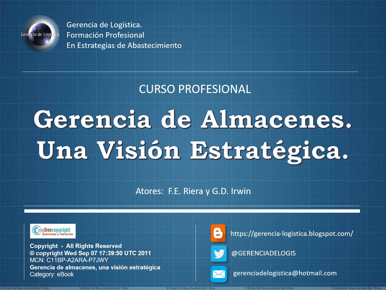 """ADQUIERA EL CURSO """"GERENCIA DE ALMACENES, UNA VISIÓN ESTRATÉGICA"""""""