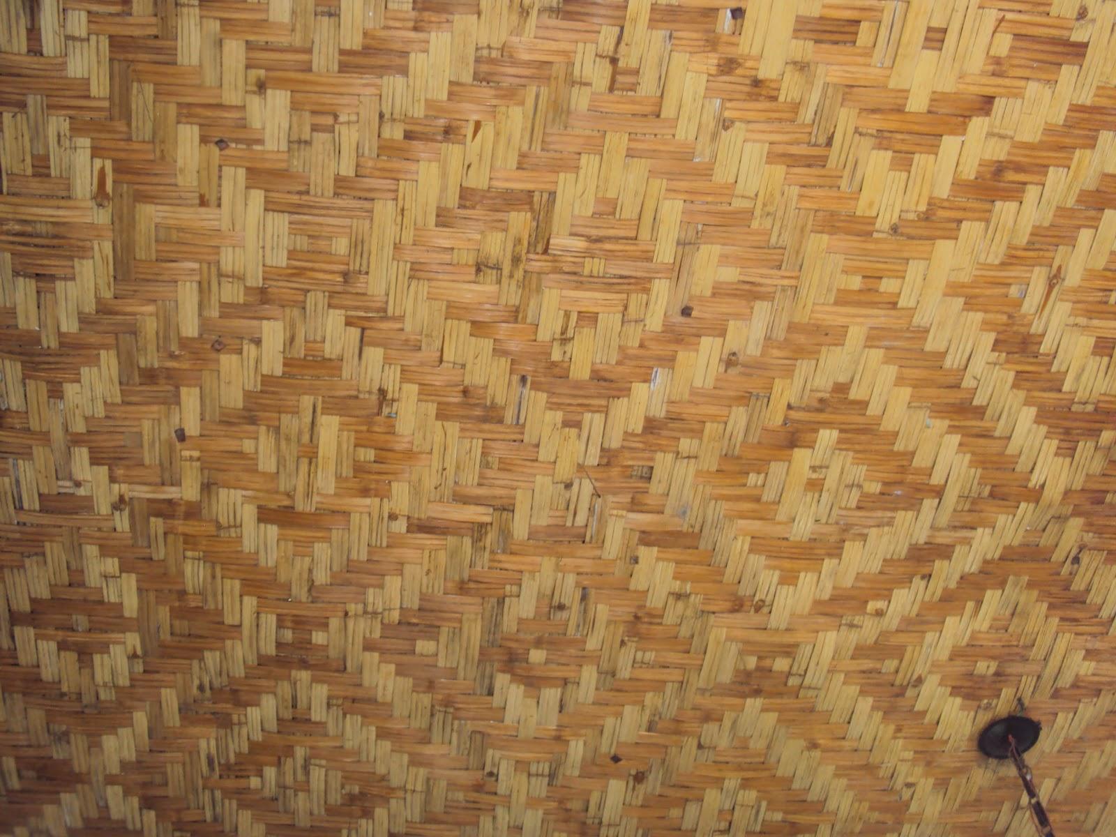 Fabuloso Alforria Artefatos em Bambu: Esteiras e treliças em bambu AD02