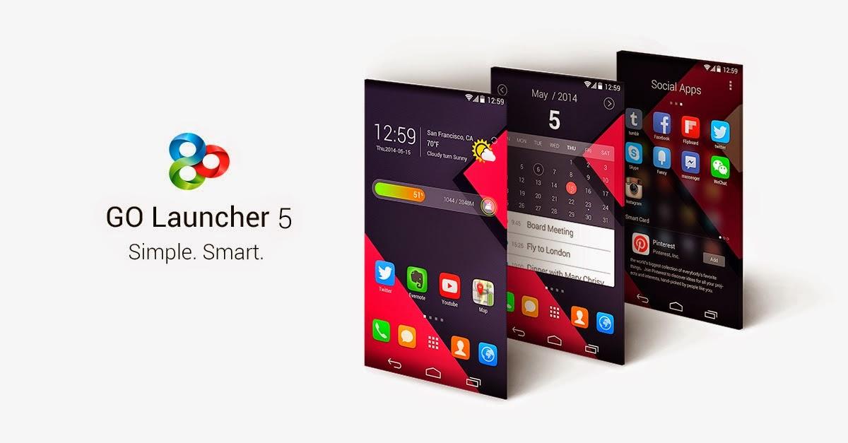بهرنامه بۆ ئهندرۆید GO Launcher EX Prime v5.13 Apk