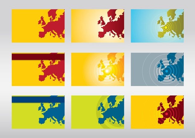 Europe Vector Maps