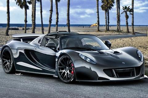 Carros mais caros do mundo em 2013 Hennessey Venom GT Spyder