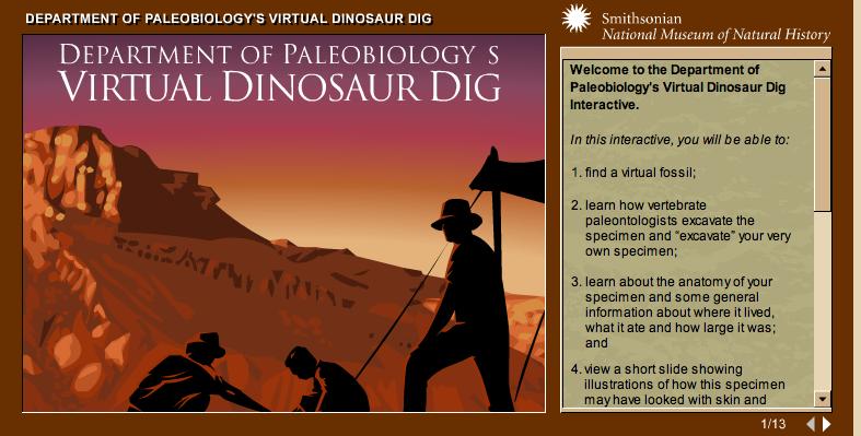 http://paleobiology.si.edu/dinosaurs/interactives/dig/dinodig.html