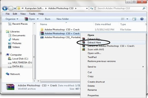 file crack photoshop cs3