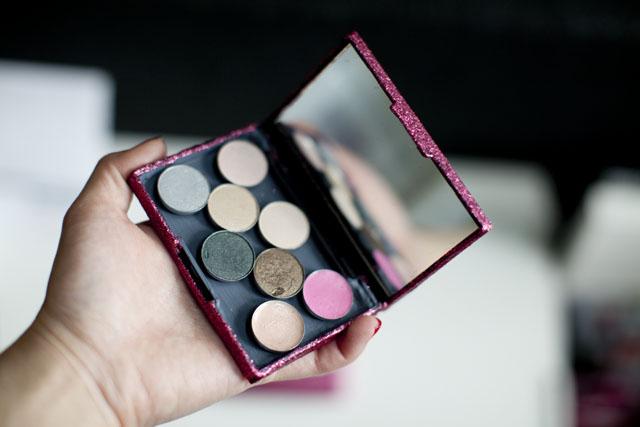Diy magnetic makeup palette 5