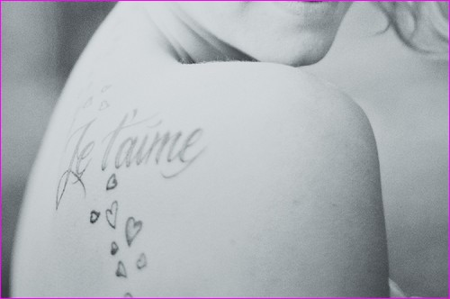 tatouage amour  coeur