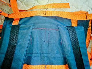 cамодельный походный рюкзак