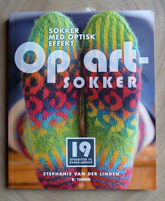 Op Art sokker bogen med mange spændende opskrifter
