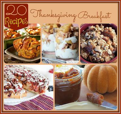 20 Thanksgiving Breakfast Recipes