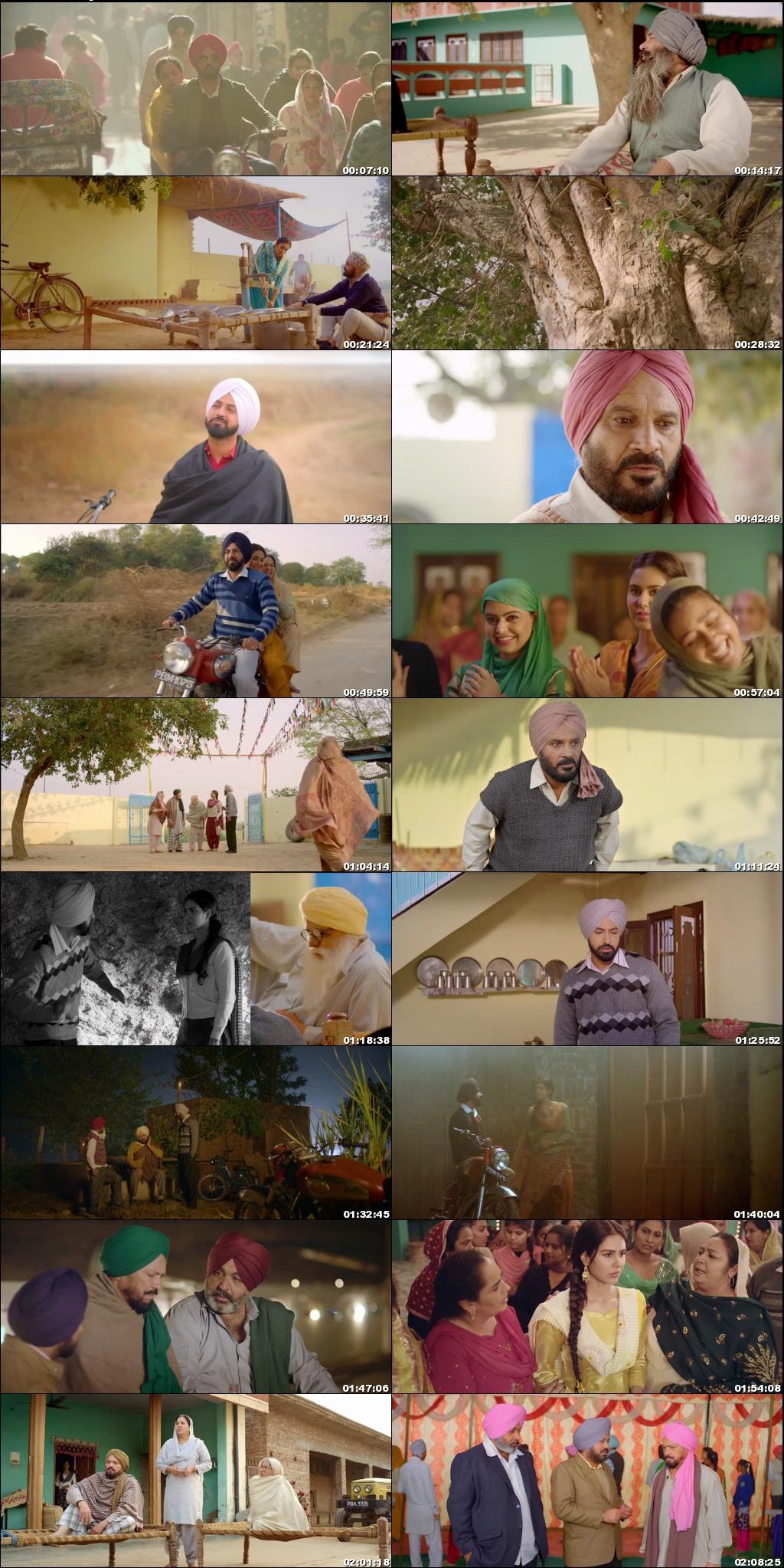 Screen Shot Of Manje Bistre 2017 300MB HDRip 480P Full Punjabi Movie Watch Online Free Download