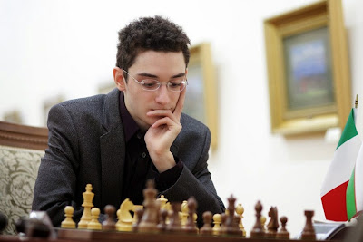 Coupe d'Europe d'échecs : Caruana à 25 points de Carlsen