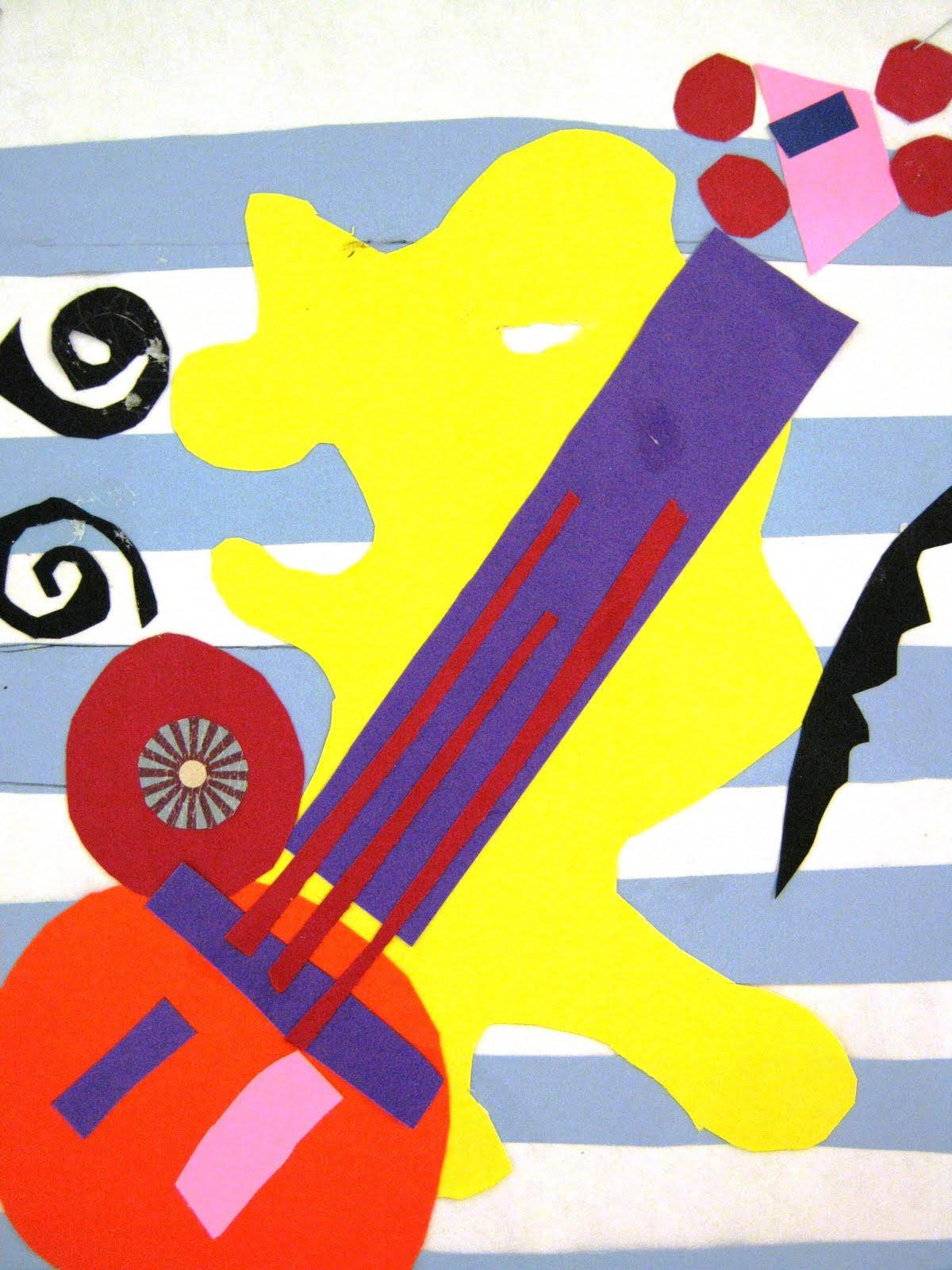 Matisse Collage Images