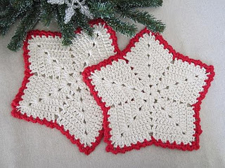 Christmas Wreath Dishcloth | Free Christmas Crochet/Knit
