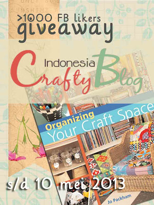 Indonesia CraftyBlog >1000 FB Likers Giveaway