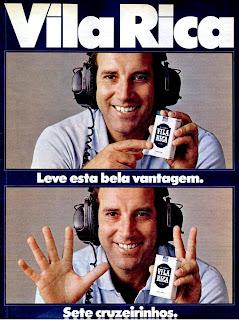 propaganda  cigarros Vila Rica - 1978 - com Gerson - levar vantagem em tudo, certo; cigarettes; propaganda anos 70; história decada de 70; reclame anos 70; propaganda cigarros anos 70; Brazil in the 70s; Oswaldo Hernandez;