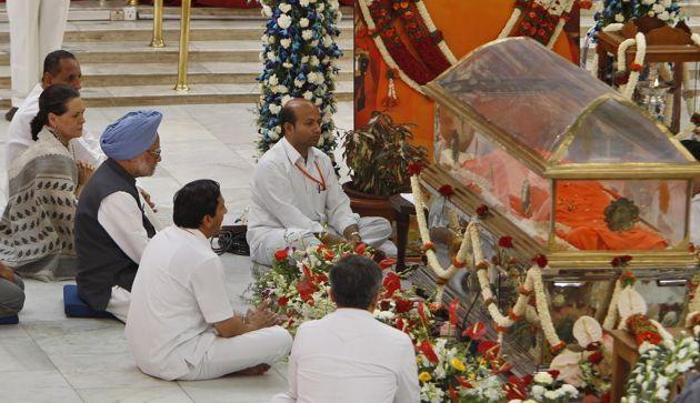 sathya sai baba funeral