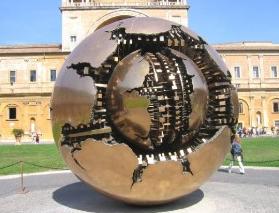 esfera dentro de la esfera- vaticano