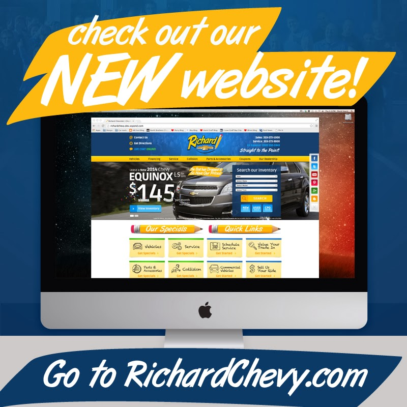 New Richard Chevrolet Website is LIVE!