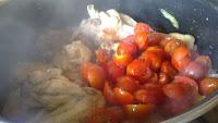 salsa con tomate