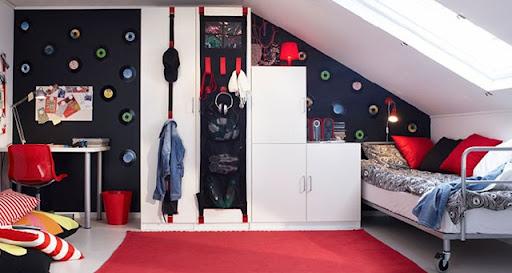 Ideias de Decoração Inspiração para quartos jovens