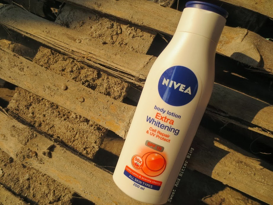 Nivea Body Lotion Extra Whitening Cell Repair & UV Protect Review India