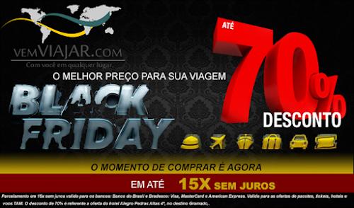 BLACK FRIDAY VEMVIAJAR.COM