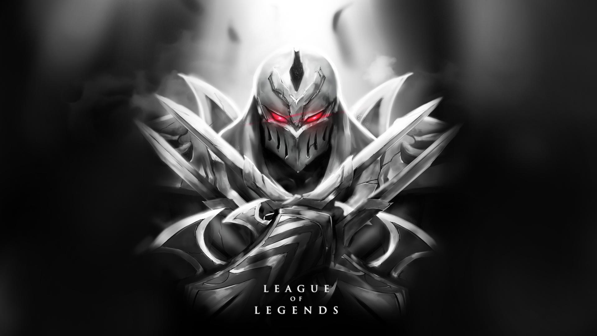 Zed Art Champion League Of Legends