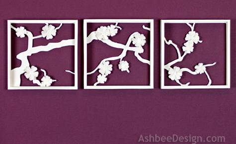 Ashbee Design: Apple Blossom Wall Art