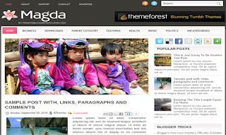 Magda Blogger Template